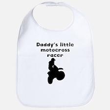 Daddys Little Motocross Racer Bib