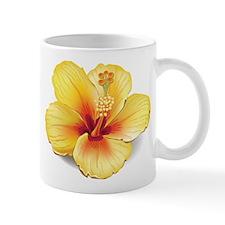 Yellow Hibiscus Mugs