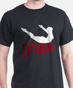 Yoga Full Locust Pose  T-Shirt
