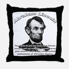 Abraham Lincoln 02 Throw Pillow