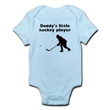 Daddys Little Hockey Player Body Suit