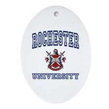 ROCHESTER University Oval Ornament