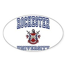 ROCHESTER University Oval Decal