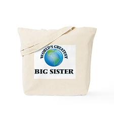 World's Greatest Big Sister Tote Bag