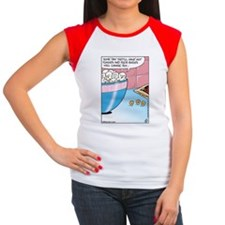 Popcorn Hot Flashes Women's Cap Sleeve T-Shirt
