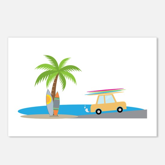 Surfer Beach Postcards (Package of 8)