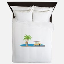 Surfer Beach Queen Duvet