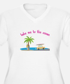 To the Ocean Plus Size T-Shirt