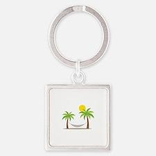 Hammock & Palms Keychains
