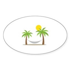 Hammock & Palms Decal