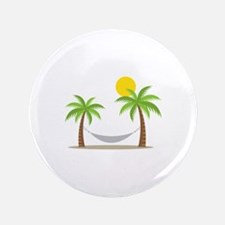 "Hammock & Palms 3.5"" Button"