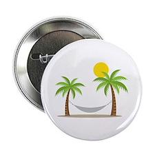 "Hammock & Palms 2.25"" Button (10 pack)"