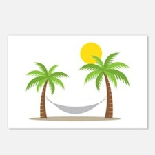 Hammock & Palms Postcards (Package of 8)