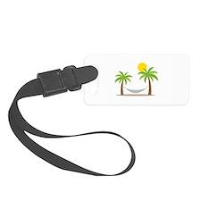 Hammock & Palms Luggage Tag