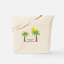 Hammock & Palms Tote Bag