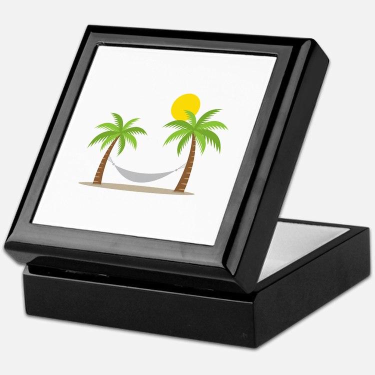 Hammock & Palms Keepsake Box