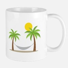 Hammock & Palms Mugs