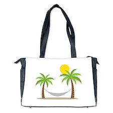 Hammock & Palms Diaper Bag