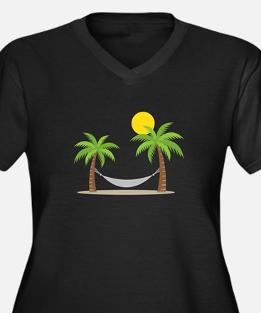 Hammock & Palms Plus Size T-Shirt