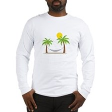 Hammock & Palms Long Sleeve T-Shirt