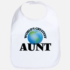 World's Greatest Aunt Bib