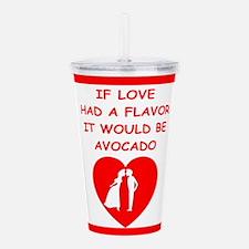 avocado Acrylic Double-wall Tumbler