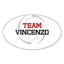 Vincenzo Oval Decal