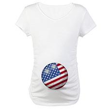 American Flag Soccer Ball (PP) Shirt