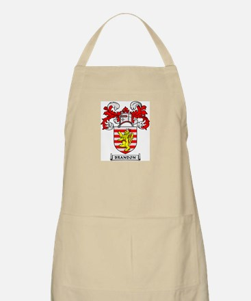 BRANDON Coat of Arms BBQ Apron