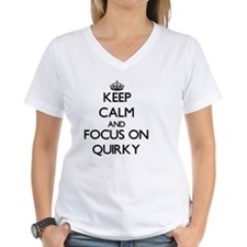 Keep Calm and focus on Quirky T-Shirt
