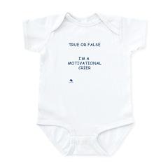 Infant Onsie Motivational Crier