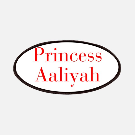 Princess Aaliyah-bod red Patches
