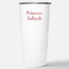 Princess Aaliyah-bod red Travel Mug