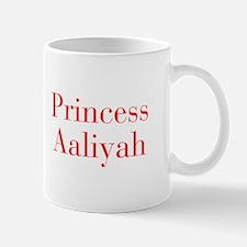 Princess Aaliyah-bod red Mugs