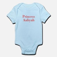 Princess Aaliyah-bod red Body Suit