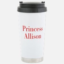 Princess Allison-bod red Travel Mug