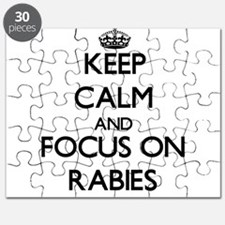Keep Calm and focus on Rabies Puzzle