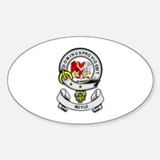 BOYLE 2 Coat of Arms Oval Decal