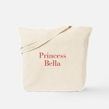 Princess Bella-bod red Tote Bag