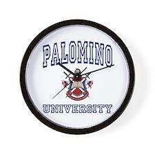PALOMINO University Wall Clock