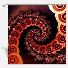 Unique Red lantern Shower Curtain
