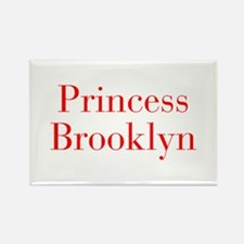 Princess Brooklyn-bod red Magnets