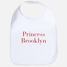 Princess Brooklyn-bod red Bib