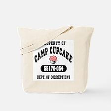 Property of Camp Cupcake Tote Bag