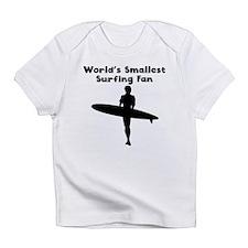 Worlds Smallest Surfing Fan Infant T-Shirt