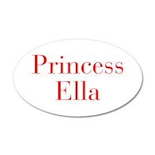 Princess Ella-bod red Wall Decal