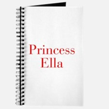 Princess Ella-bod red Journal