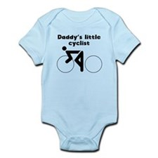 Daddys Little Cyclist Body Suit