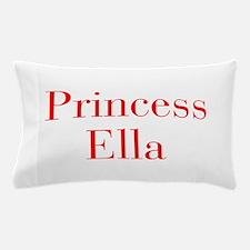 Princess Ella-bod red Pillow Case