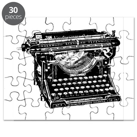 Vintage Typewriter Puzzle by ADMIN_CP112282429